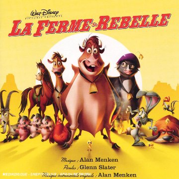 ferme rebelle Disney bande originale soundtrack album home on the range