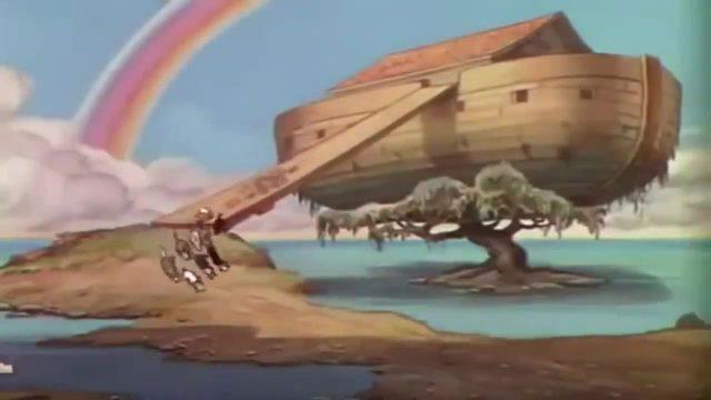image noé arche ark father disney silly symphony