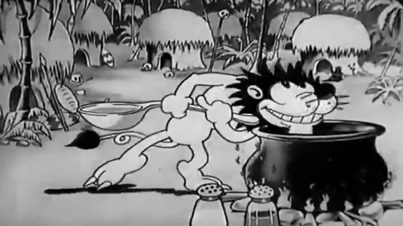 image cannibal capers disney silly symphony
