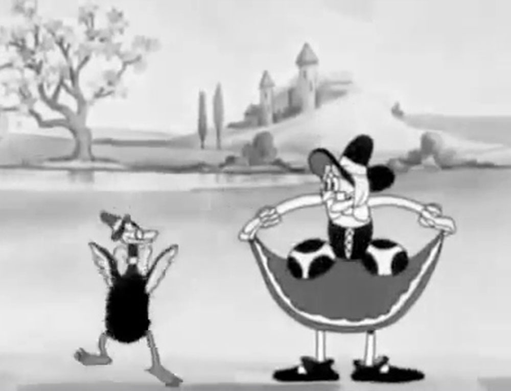 image chansons mère oie mother goose melodies disney silly symphony