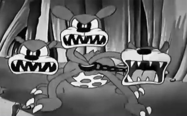 image cloches enfer hell bells silly symphony disney