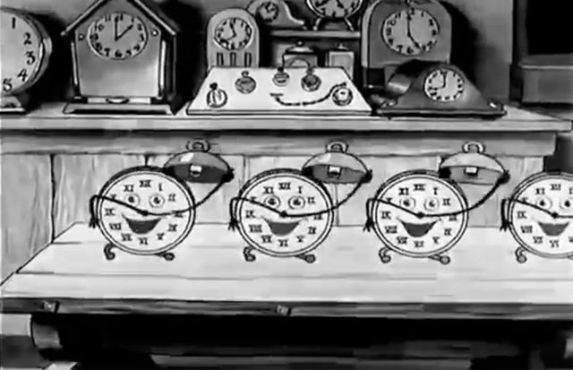image clock store disney silly symphony