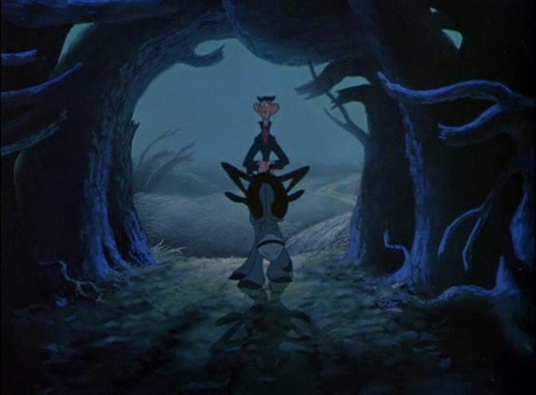 image crapaud maître école Disney Adventures Ichabod Toad
