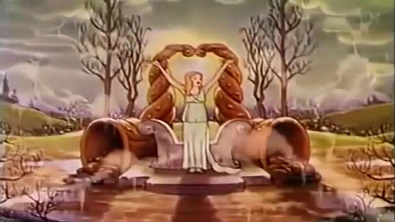 image déesse printemps goddess spring disney silly symphony
