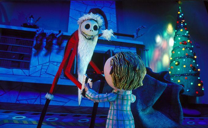 Image étrange noel monsieur jack nightmare before christmas disney touchstone
