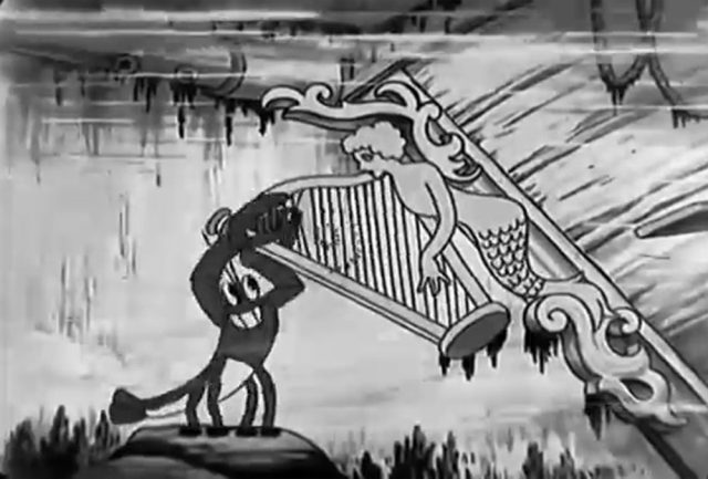 image frolicking fish silly symphony disney