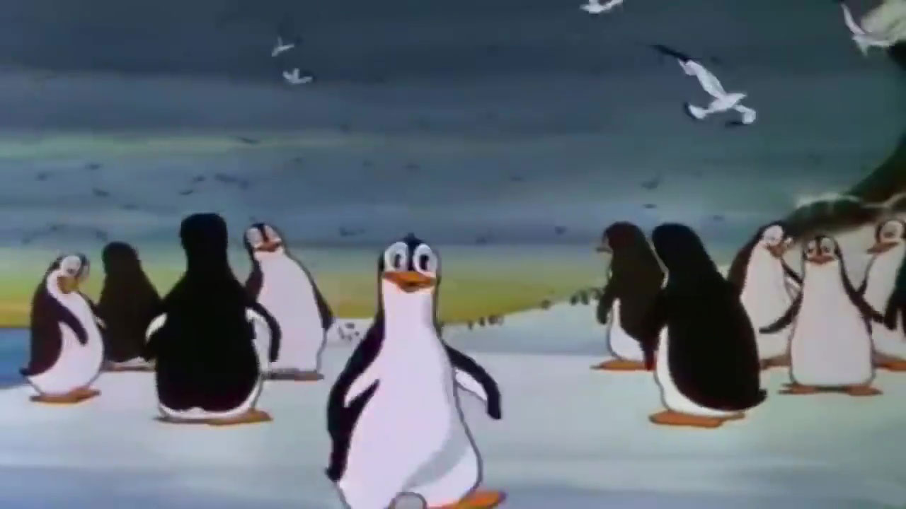 image histoire pingouins peliculiar penguins disney silly symphony