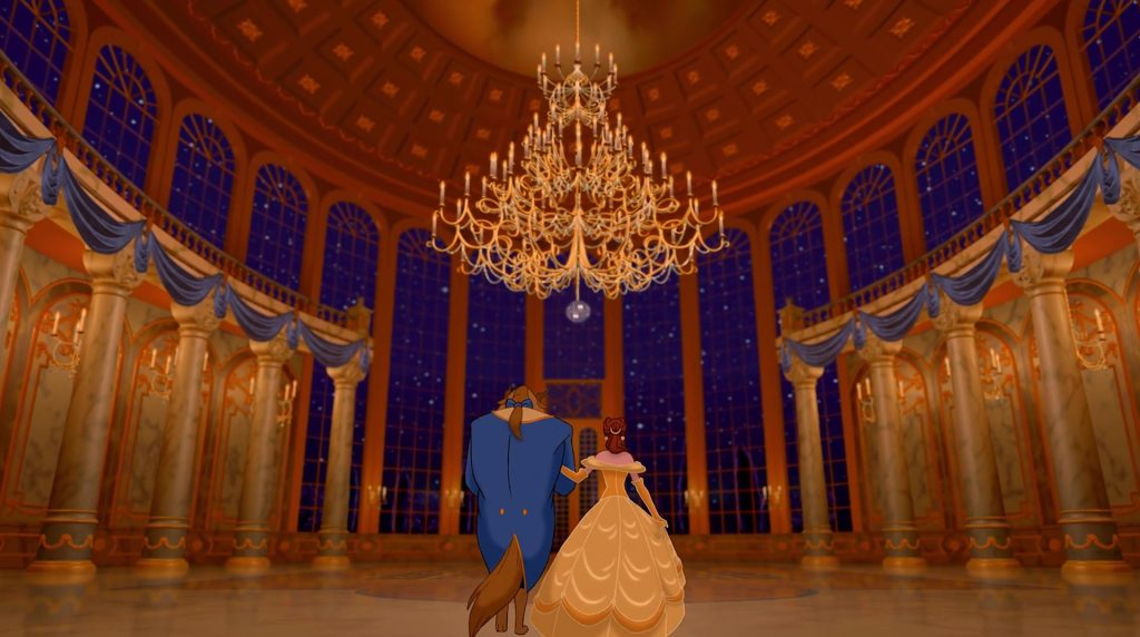 disney animation 1991 la belle et la bête beauty and the beast
