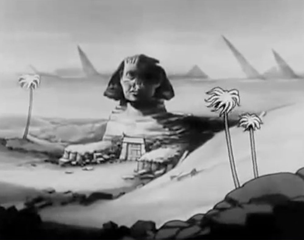 image mélodies égyptiennes egyptian disney silly symphony