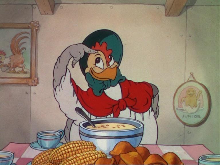 Image petite poule avisée donald Wise Little Hen disney