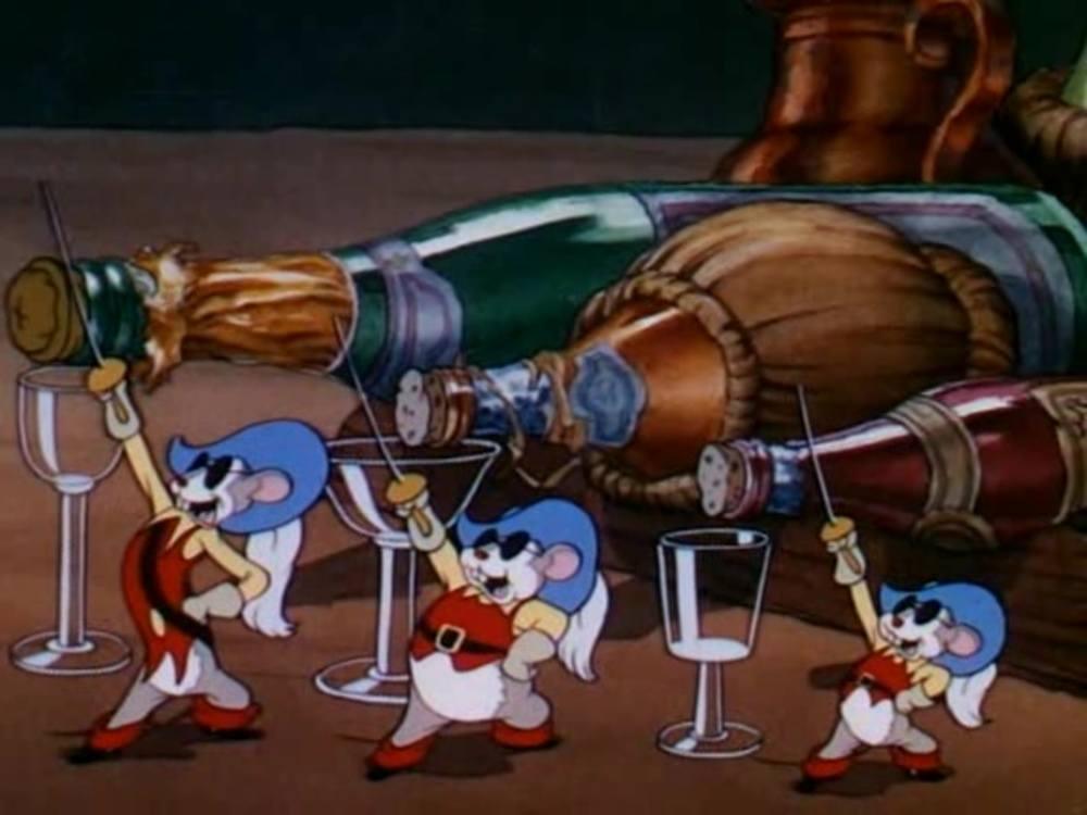 image trois espiègles petites souris three little mouseketeers disney silly symphony