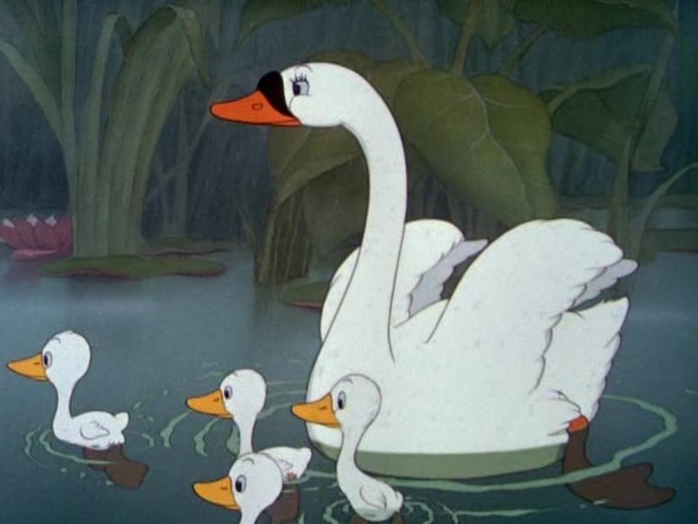 image vilain petit canard ugly duckling disney silly symphony