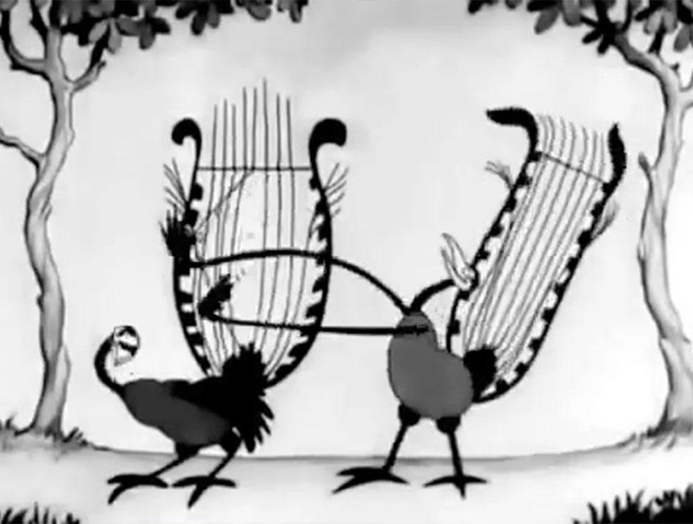 image woody goguenarde birds feather disney silly symphony