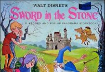 merlin enchanteur Disney bande originale soundtrack album sword stone