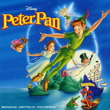 peter pan Disney bande originale soundtrack album