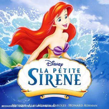 petite sirene Disney bande originale soundtrack album little mermaid