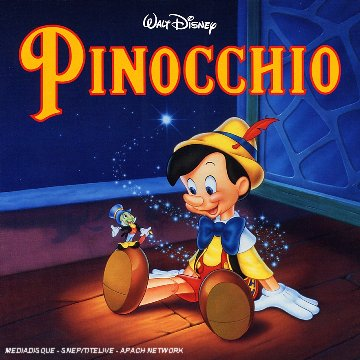 Disney bande originale soundtrack album pinocchio