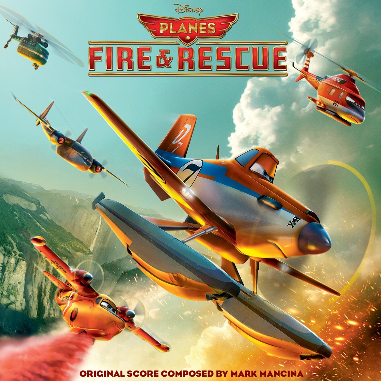 planes 2 Disney bande originale soundtrack album fire rescue