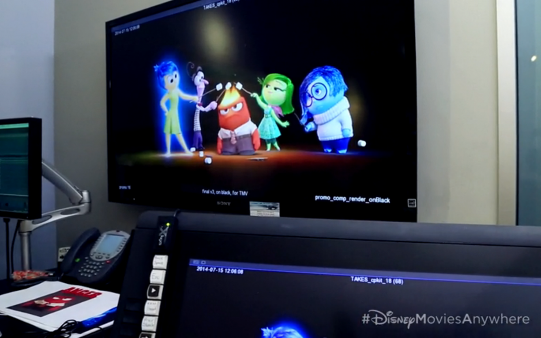 Pixar Disney promotion inside out
