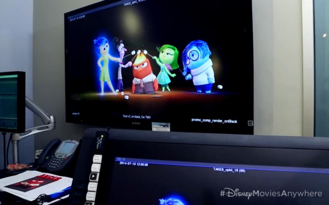 Pixar Disney promotion inside out