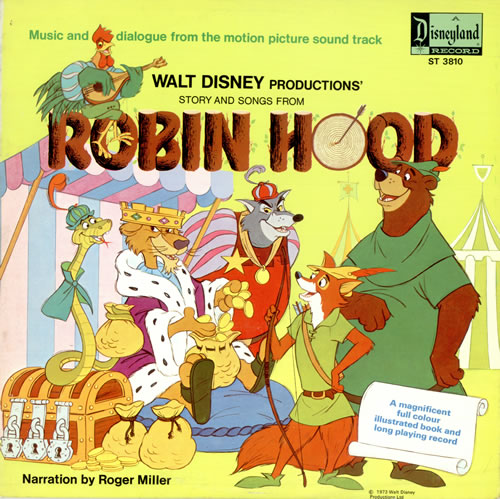 robin bois Disney bande originale soundtrack album hood