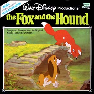 rox rouky Disney bande originale soundtrack album fox hound