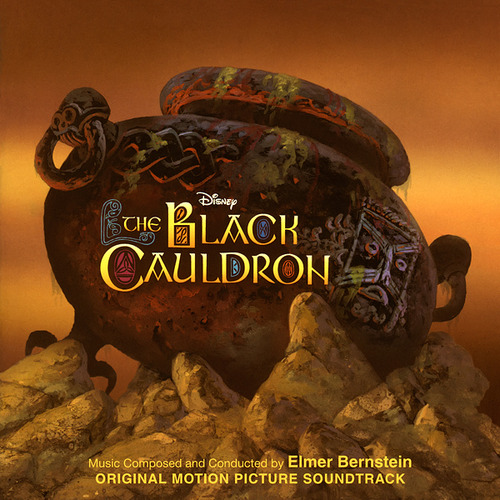 taram chaudron magique Disney bande originale soundtrack album black cauldron
