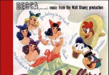 trois three caballeros Disney bande originale soundtrack album