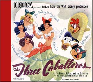 trois three caballeros Disney bande originale soundtrack album