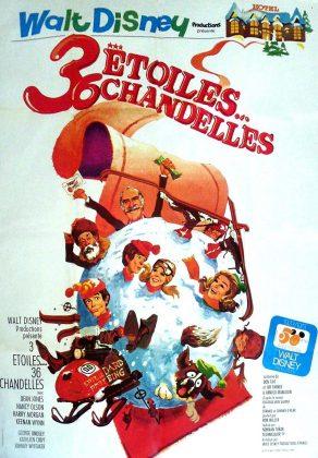 Affiche Poster 3 étoiles 36 chandelles snowball express disney
