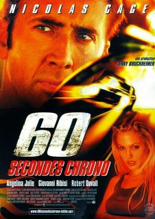 Affiche Poster 60 secondes chrono gone disney touchstone