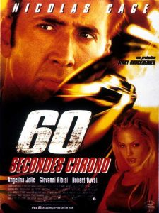 affiche 60 secondes chrono disney touchstone poster gone