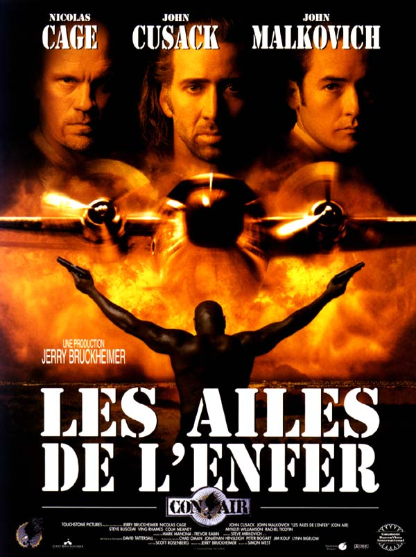 Disney touchstone con air affiche-ailes-enfer