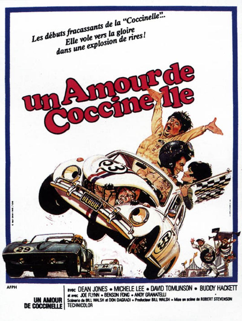 Affiche Poster amour coccinelle love bug disney