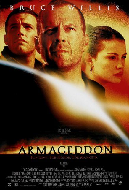 Affiche Poster Armageddon Disney Touchstone