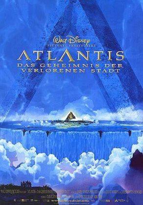 Affiche Atlantide l'empire perdu Disney Poster Atlantis lost empire