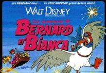 Affiche Les aventures de Bernard et Bianca Disney Poster The rescuers