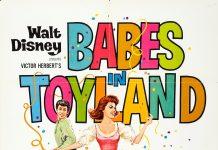 Affiche poster babes toyland disney