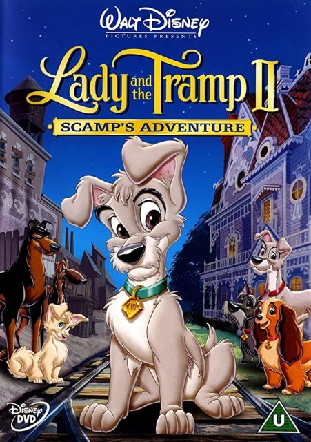 affiche poster belle clochard lady tramp 2 appel rue scamp adventure disney