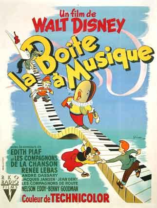 Affiche La boîte à musique Disney Poster Make mine music