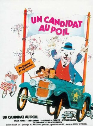 Affiche Poster candidat poil shaggy disney