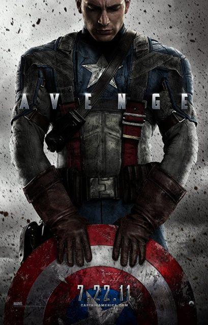Affiche Poster Captain America First Avenger Disney marvel