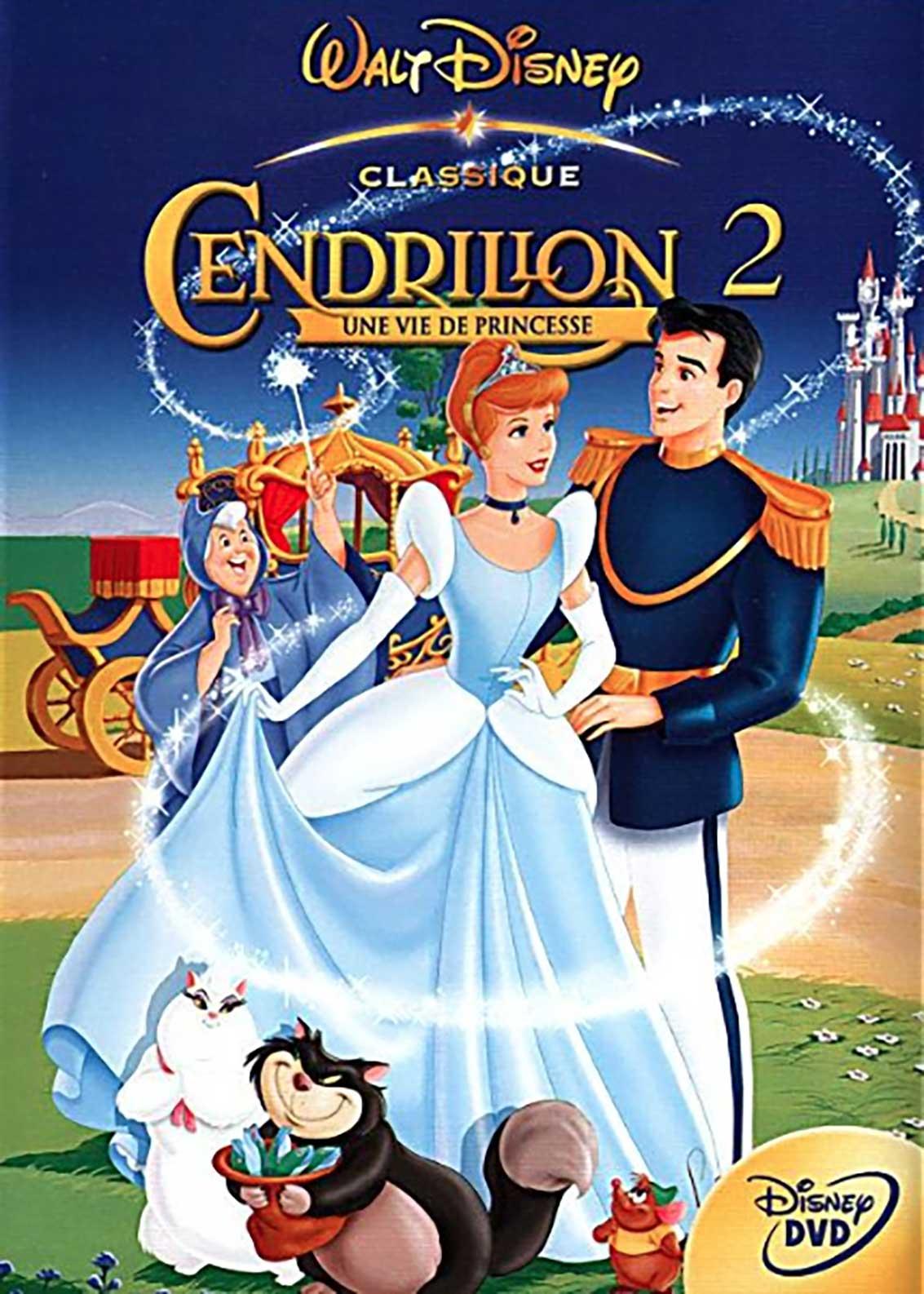 Affiche Poster cendrillon 2 cinderella dreams come true disney disneytoon