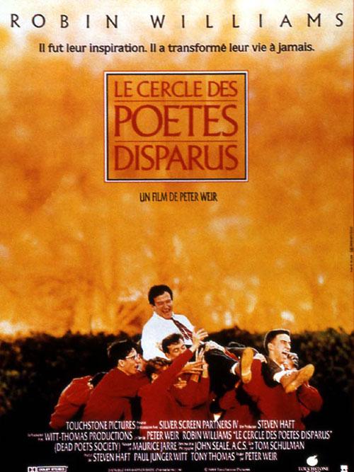 Disney touchstone Dead Poets Society affiche-cercle-des-poetes-disparus