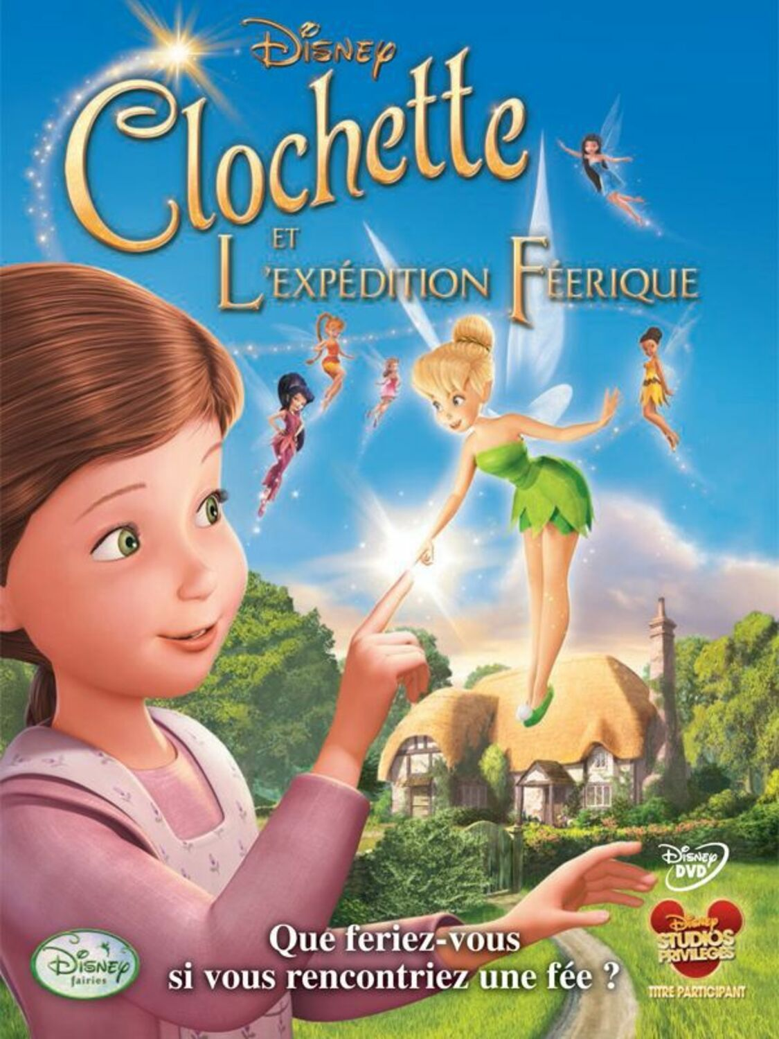affiche poster clochette expédition féerique tinkerbell great fairy rescue disney