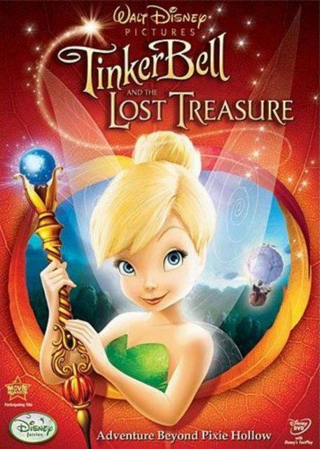 affiche poster clochette pierre lune tinker bell lost treasure disney