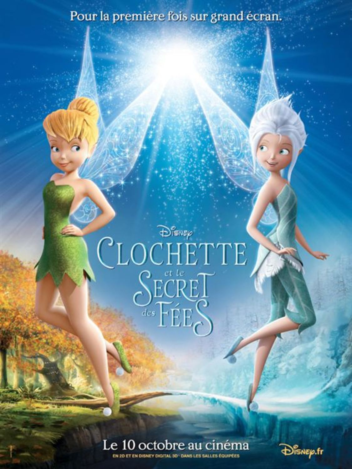 affiche poster clochette secret fées wings disney