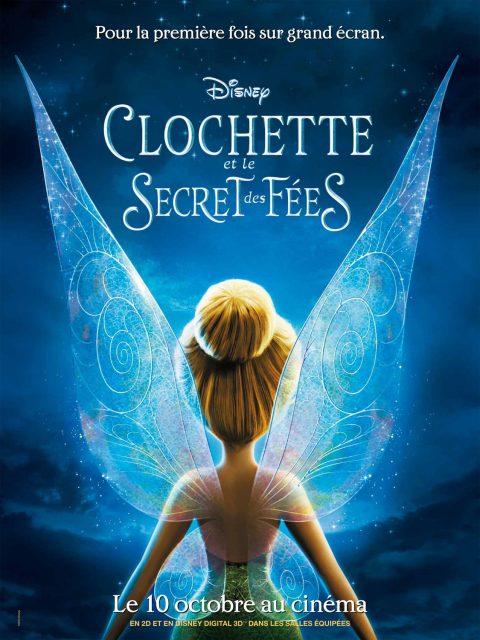 affiche poster clochette secret fées wings disney