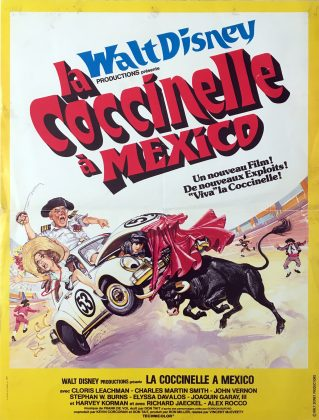 Affiche Poster coccinelle Herbie mexico bananas disney