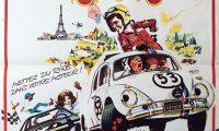 Affiche Poster coccinelle Herbie monte carlo disney